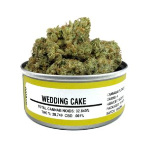 Wedding Cake Weed Tin